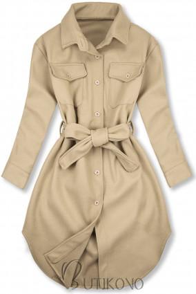 Béžový ľahký plášť